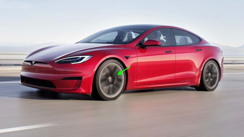 Tesla Model S/X Plaid red brake calipers now absent from online configurator
