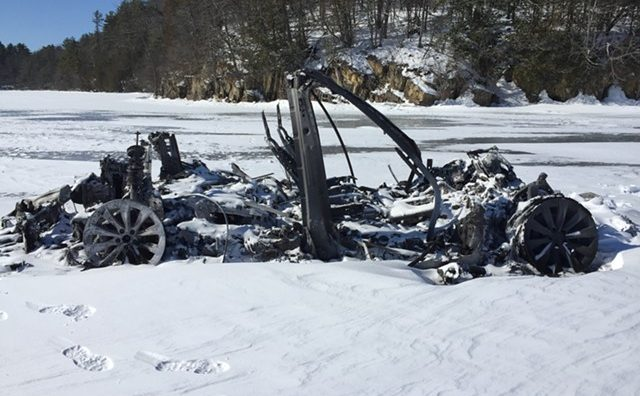 Tesla Model X frozen lake mystery gets solved, and the truth is stranger than fiction