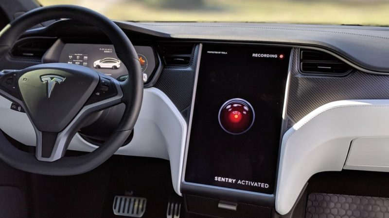 Tesla launches live Sentry Mode Camera Access with 2021.36.8
